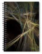 Abstract Fractal Background 01 Spiral Notebook