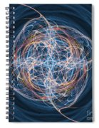 Abstract Fractal Background 08 Spiral Notebook
