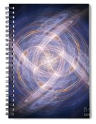 Abstract Fractal Background 17 Spiral Notebook