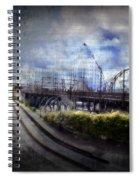 Ghost Ride Spiral Notebook