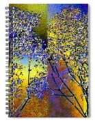 Abstract Fusion 100 Spiral Notebook