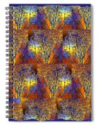 Abstract Fusion 142  Spiral Notebook
