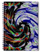 Abstract Fusion 161   Spiral Notebook