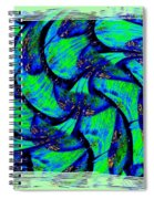 Abstract Fusion 167 Spiral Notebook