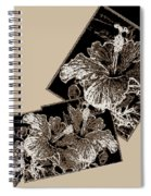 Abstract Fusion 169 Spiral Notebook