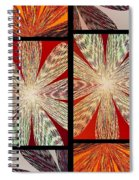 Abstract Fusion 171 Spiral Notebook