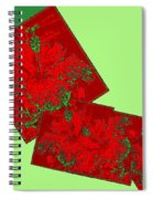 Abstract Fusion 172 Spiral Notebook