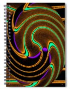 Abstract Fusion 174 Spiral Notebook