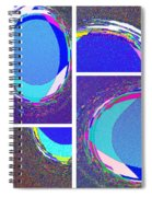 Abstract Fusion 178 Spiral Notebook