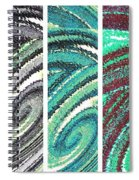 Abstract Fusion 180 Spiral Notebook