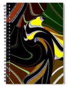 Abstract Fusion 183 Spiral Notebook