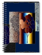Abstract Fusion 191 Spiral Notebook