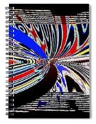 Abstract Fusion 197 Spiral Notebook
