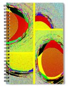 Abstract Fusion 199 Spiral Notebook