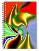 Abstract Fusion 200 Spiral Notebook
