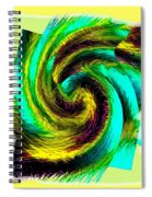 Abstract Fusion 201 Spiral Notebook