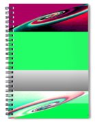 Abstract Fusion 209 Spiral Notebook