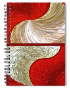 Abstract Fusion 218 Spiral Notebook