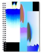 Abstract Fusion 220 Spiral Notebook