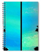 Abstract Fusion 243 Spiral Notebook