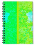 Abstract Fusion 249 Spiral Notebook