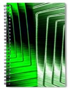 Abstract Fusion 253 Spiral Notebook