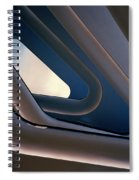 Abstract Future Spiral Notebook