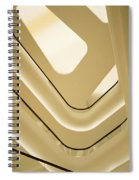 Abstract Geometry Spiral Notebook