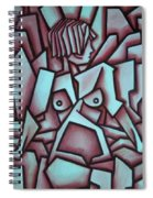 Abstract Girl  Spiral Notebook