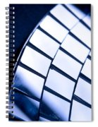 Abstract Glass Spiral Notebook