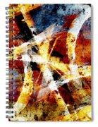 Abstract Graffiti 2 Spiral Notebook