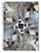 Abstract Graffiti 6 Spiral Notebook
