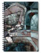 Abstract Graffiti 9 Spiral Notebook