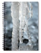 Abstract Icicles I Spiral Notebook