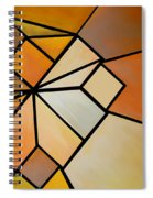 Abstract Impossible Warm Figure Spiral Notebook