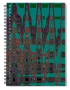 Abstract Iv Spiral Notebook