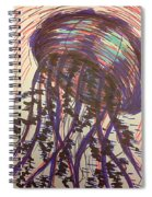 Abstract Jellyfish In Ink Spiral Notebook