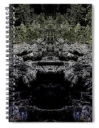 Abstract Kingdom Spiral Notebook
