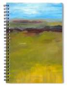 Abstract Landscape - The Highway Series Spiral Notebook