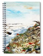 Abstract Landscape Untitled Spiral Notebook