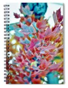 Abstract Leaves Spiral Notebook