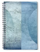 Abstract Metal 2 Spiral Notebook
