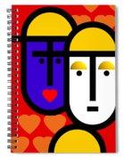 Abstract Modern Spiral Notebook