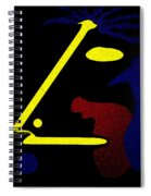 Abstract Music Spiral Notebook