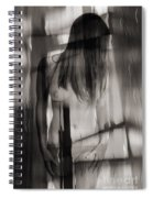 Abstract  Nude Woman 3 Spiral Notebook