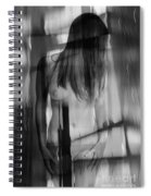 Abstract  Nude Woman 4 Spiral Notebook