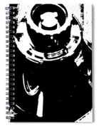 Abstract Object Spiral Notebook