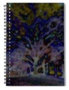 Abstract Of A Tree Spiral Notebook