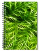 Abstract Of Nature 3 Spiral Notebook