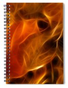 Abstract Of Nature 4 Spiral Notebook